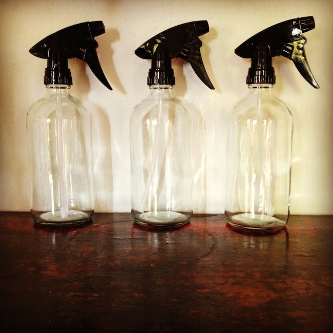 glass spray bottles