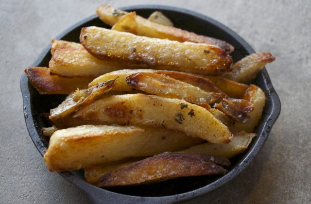 oven fries potatos