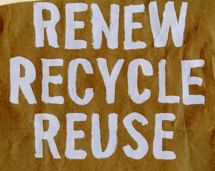 recycle sign158